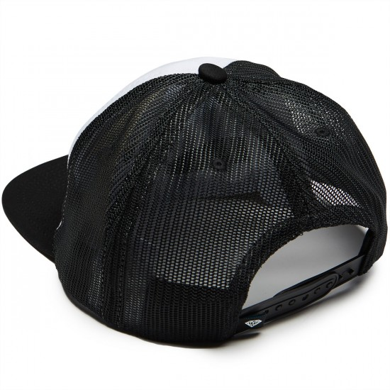 Diamond Supply Co. Vacation Trucker Hat - Black