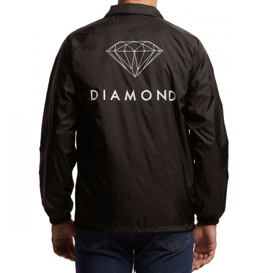 Diamond Supply Co. Futura Sign Coaches Jacket - Black