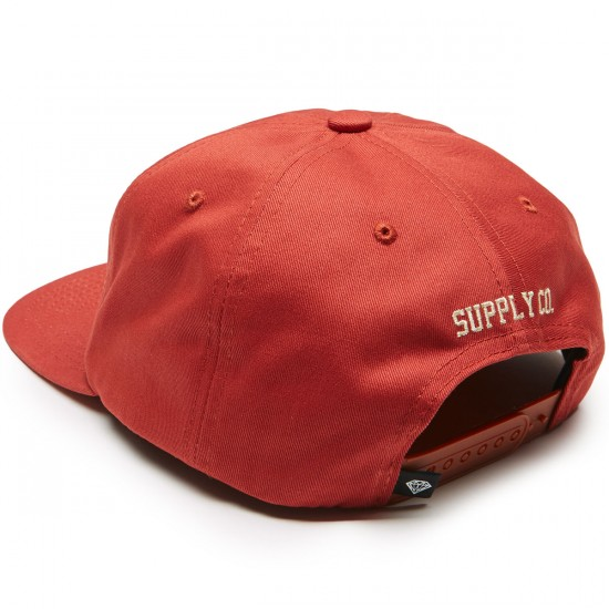 17b0db2903f Diamond Supply Co. Brilliant Unconstructed Snapback Hat