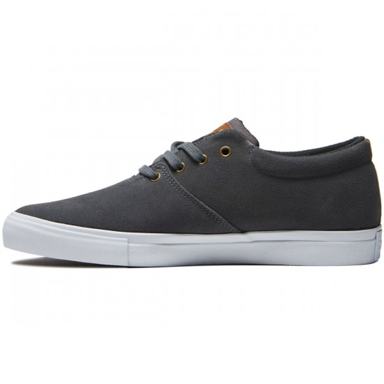 Diamond Supply Co. Torey Shoes - Grey Suede - 8.0