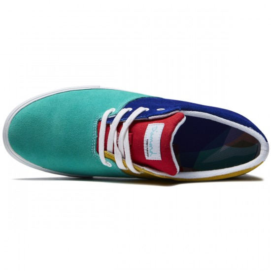 Diamond Supply Co. Torey Shoes - Multi Suede - 8.0