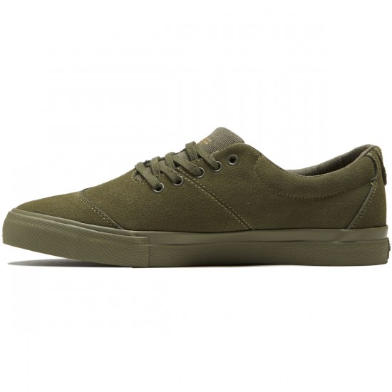 Diamond Supply Co. Avenue Shoes - Olive Suede - 8.0