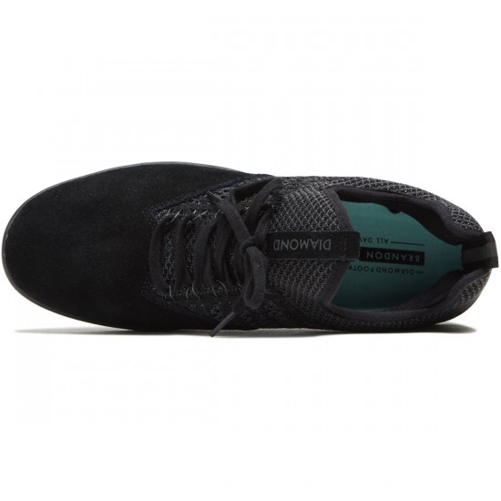 Diamond Supply Co. All Day Shoes - Black/Black - 8.5