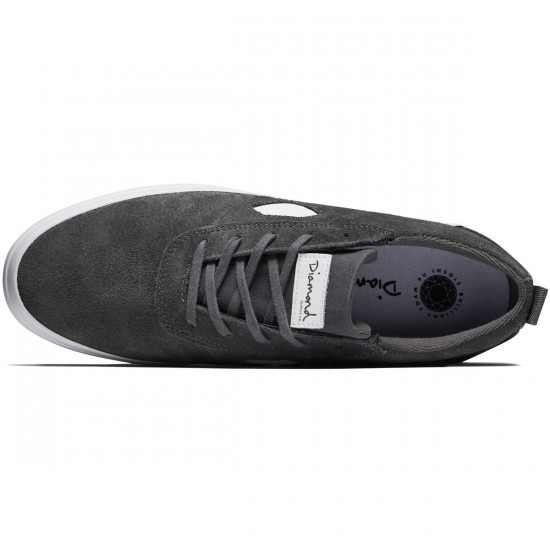 Diamond Supply Co. Icon Shoes - Grey Suede - 8.5