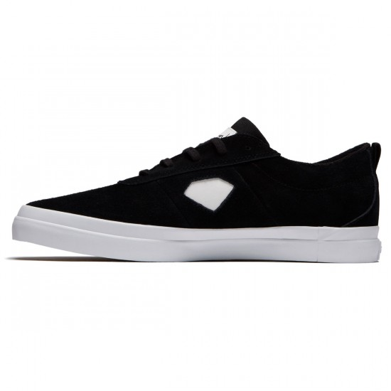 Diamond Supply Co. Icon Shoes - Black/White - 8.0