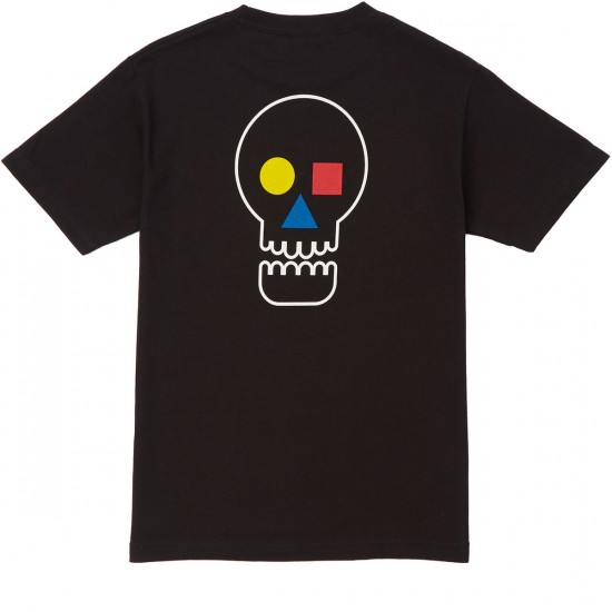 The Quiet Life Bauhaus Skull T-Shirt - Black