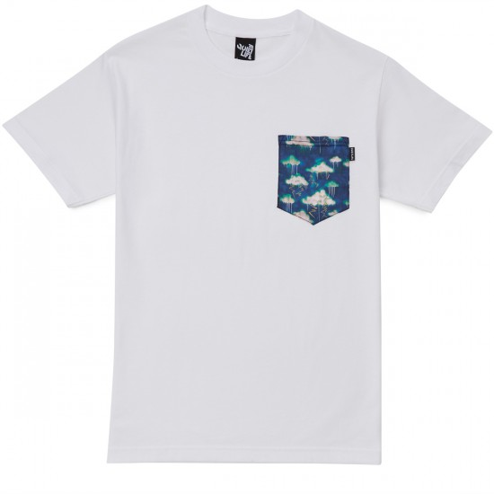 The Quiet Life Stormy Pocket T-Shirt - White