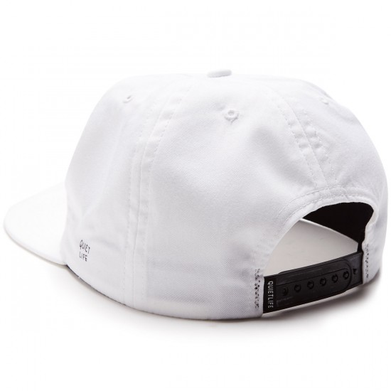 The Quiet Life Boob Dog Relaxed Fit Hat - White