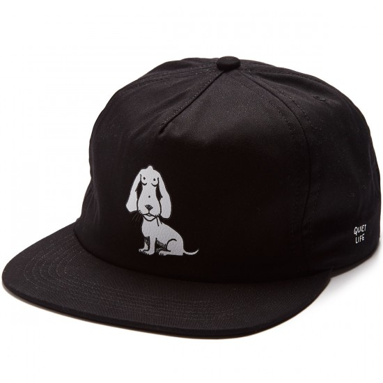 The Quiet Life Boob Dog Relaxed Fit Hat - Black