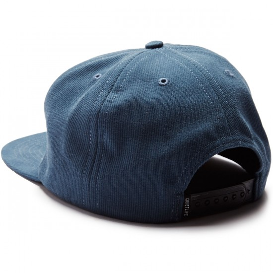 The Quiet Life Cloudy Unstructured Hat - Steel Blue