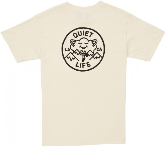 The Quiet Life Cloudy T-Shirt - Cream
