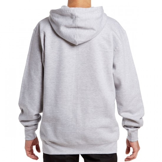 The Quiet Life Shakey Pullover Hoodie - Heather Grey