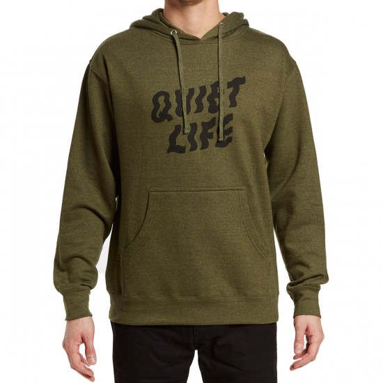 The Quiet Life Shakey Pullover Hoodie - Heather Army