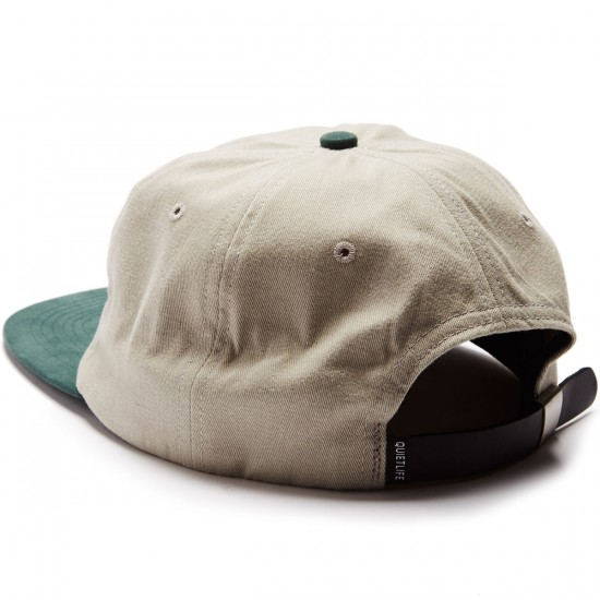 The Quiet Life Camera Club Polo Hat - Tan/Forest