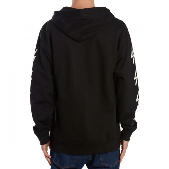 The Quiet Life Bolt Hoodie - Black