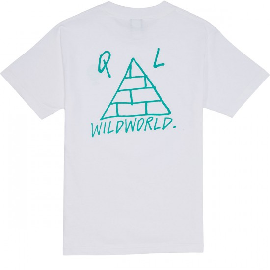 The Quiet Life Wildworld T-Shirt - White