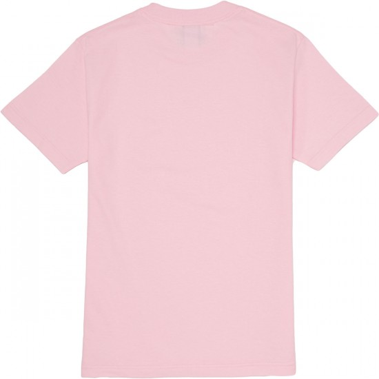 The Quiet Life Sanders Box T-Shirt - Pink
