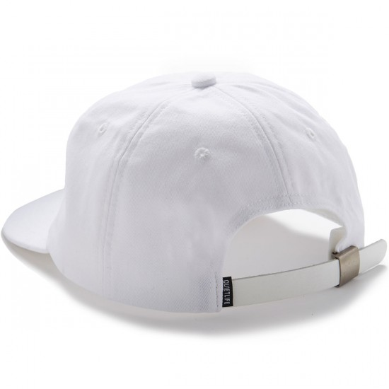 The Quiet Life VIP Polo Hat - White