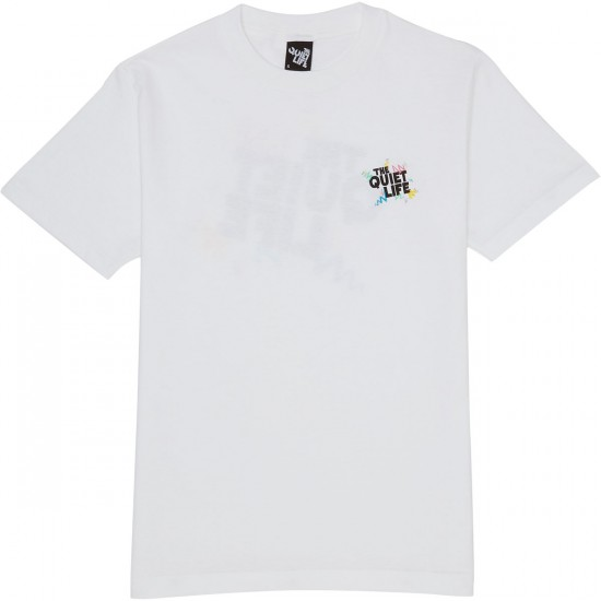 The Quiet Life Ziggity T-Shirt - White