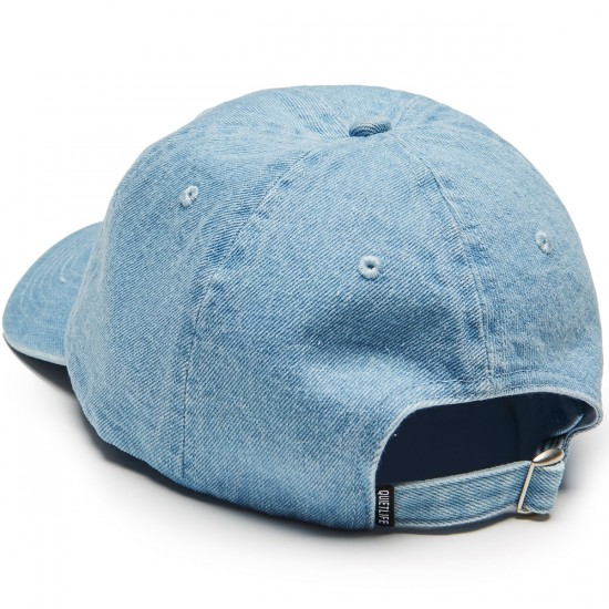 Quiet Life Zone Dad Hat - Denim