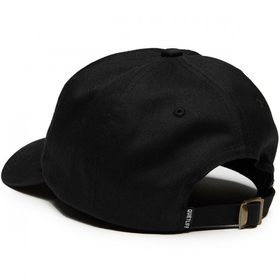 Quiet Life Zone Dad Hat - Black