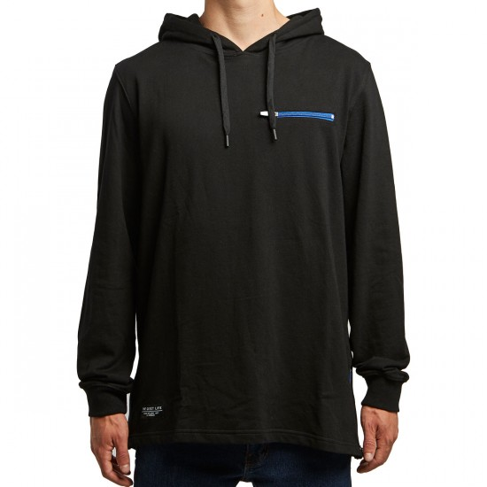 Quiet Life On And Off Hoodie - Black