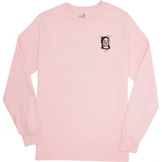 Quiet Life Up All Night Longsleeve T-Shirt - Pink