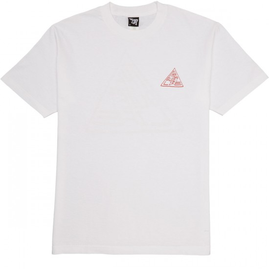 Quiet Life Pyramid T-Shirt - White