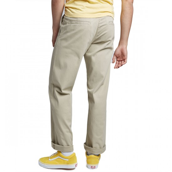 CCS Relaxed Fit Chino Pants - Light Khaki - 28 - 30