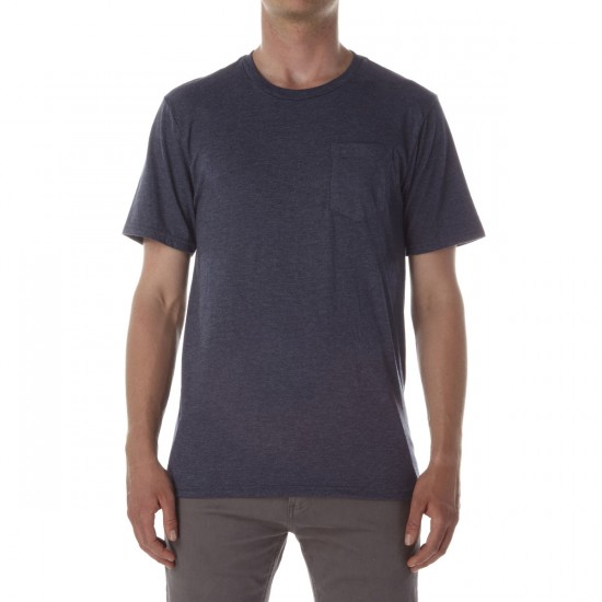 CCS Staple Pocket T-Shirt - Heather Navy