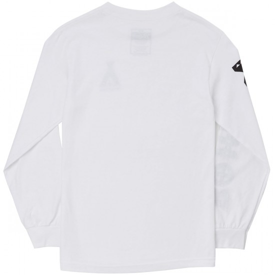 Bohnam Campfire Long Sleeve T-Shirt - White