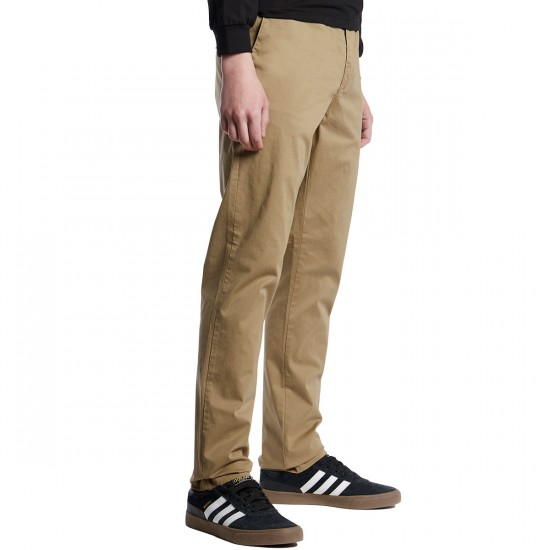 Globe Goodstock Chino Pants - Stone - 30 - 32