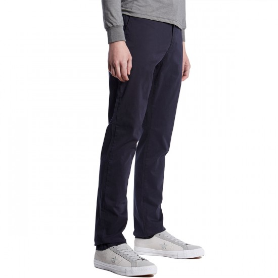 Globe Goodstock Vintage Chino Pants - Navy - 33 - 32