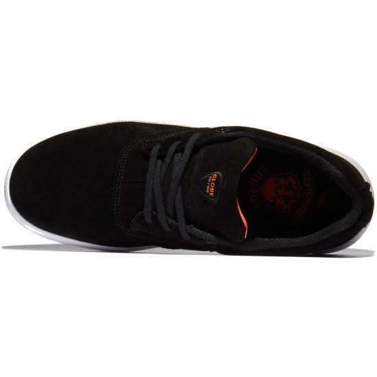 Globe The Eagle SC Shoes - Black/Orange/White - 8.0