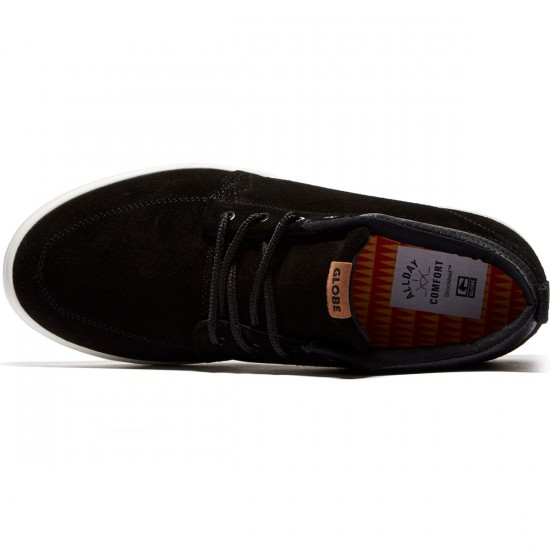 Globe GS Chukka Shoes - Black/Antique - 8.0