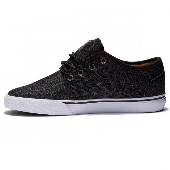 Globe Mahalo Shoes - Black/Denim - 8.0