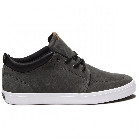 Globe GS Chukka Shoes - Charcoal/White - 8.0