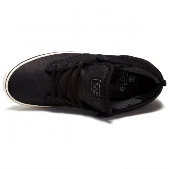 Globe Motley Mid Shoes - Black/Antique - 8.0