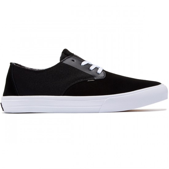 Globe Motley LYT Shoes - Black/White - 8.0