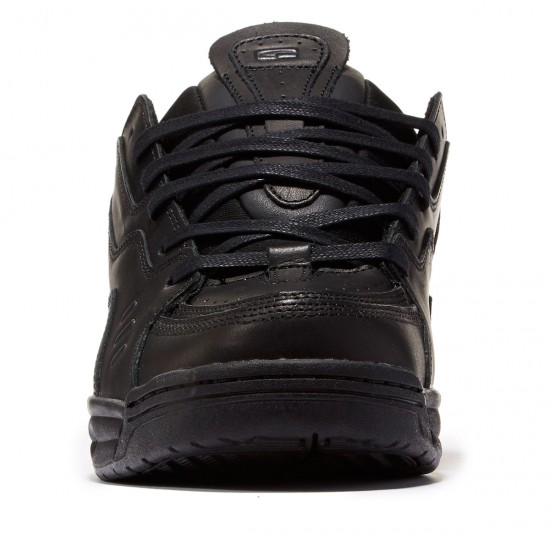 Globe CT-IV DLX Shoes - Black Leather