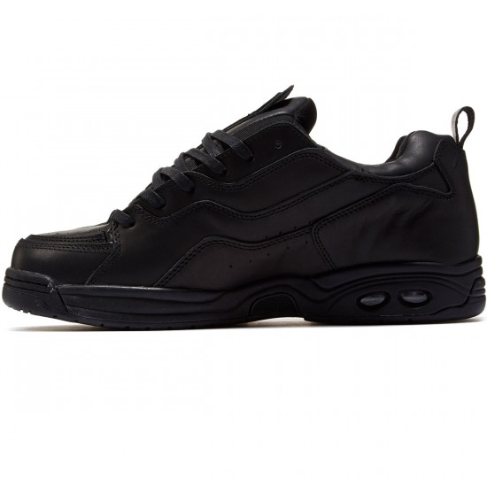 Globe CT-IV DLX Shoes - Black Leather - 8.0