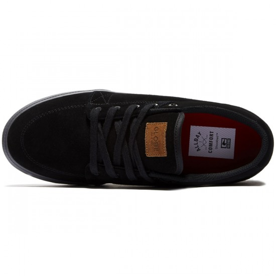 Globe GS Shoes - Black/Black/Red - 8.0