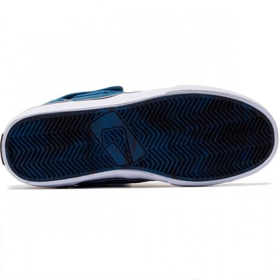 Globe Motley Mid Shoes - Sea Blue/White - 8.0