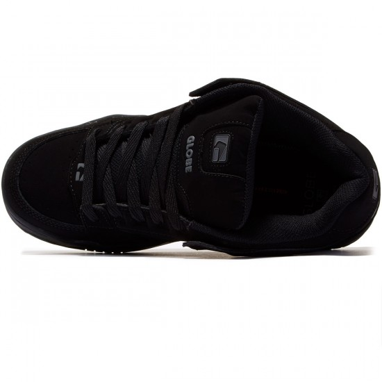 Globe Sabre Shoes - Black/Black/Shadow - 8.0