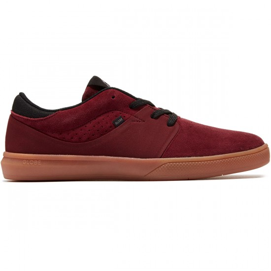 Globe Mahalo SG Shoes - Burgundy/Gum - 8.0