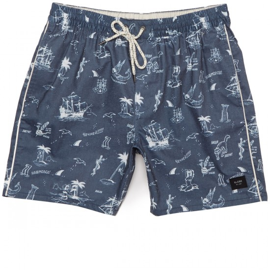 Globe Vacation Pool Shorts - Ink