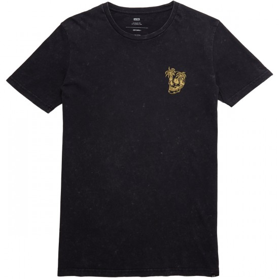 Globe Pine T-Shirt - Acid Black