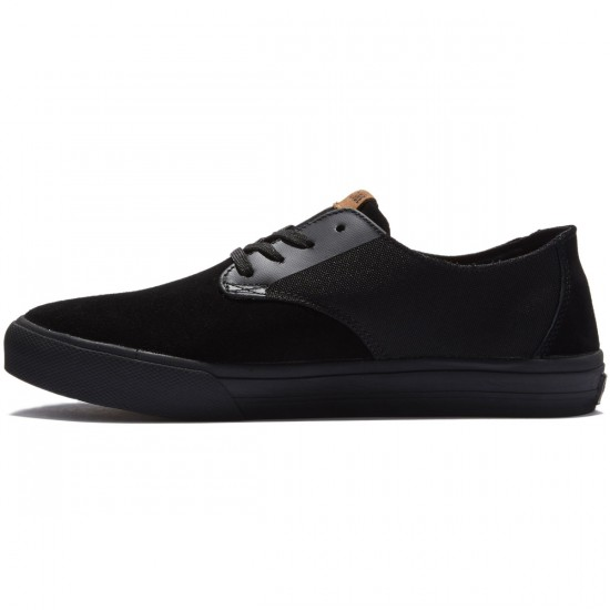 Globe Motley LYT Shoes - Black/Black - 8.0