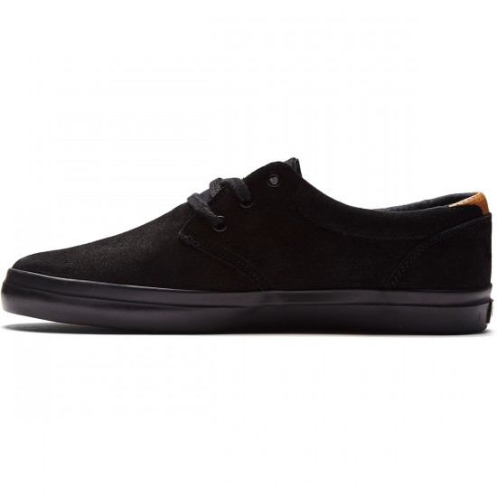 Globe Willow Shoes - Black/Black - 8.0