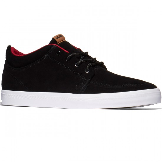 Globe GS Chukka Shoes - Black/Red